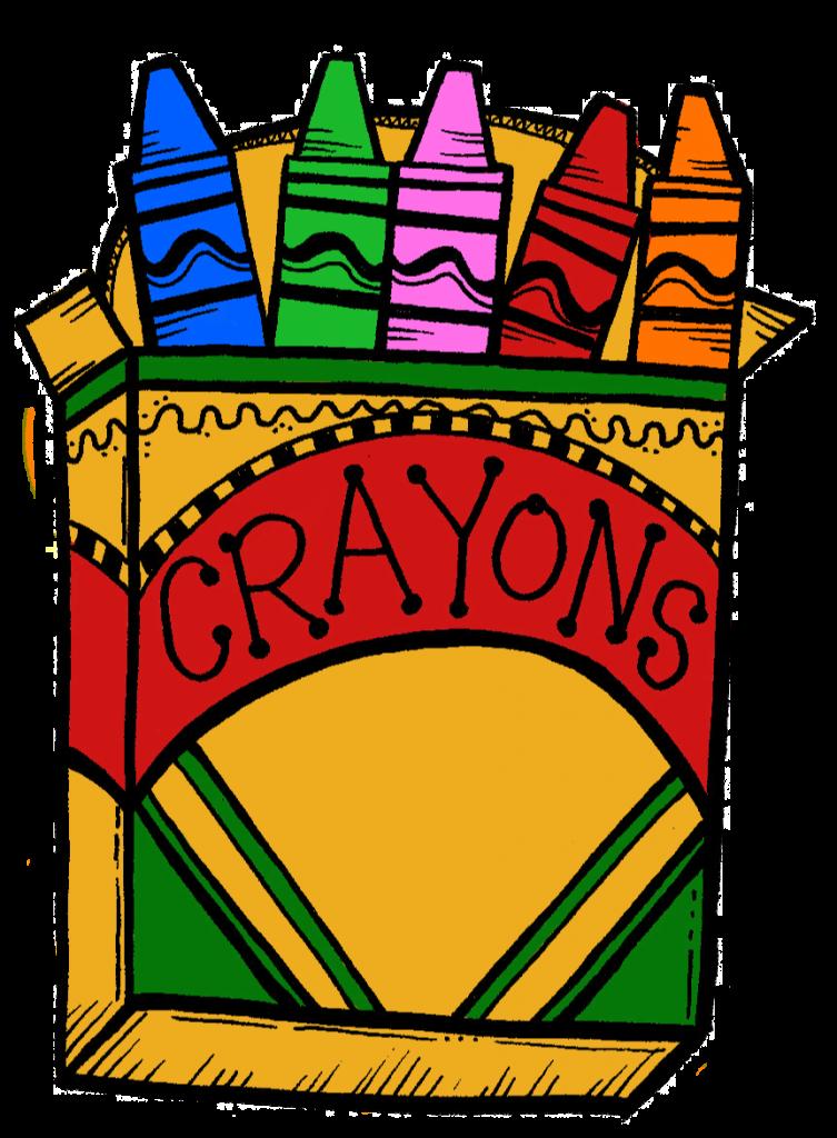 Crayon clipart Count Crayola Crayons Clipartion «