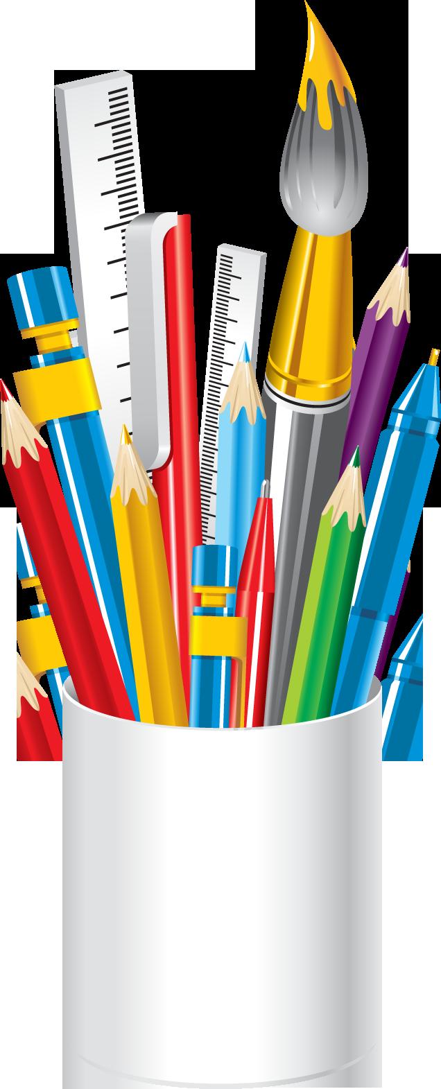 Crayon clipart art supply Clip supplies Before a ·