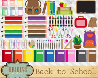 Crayon clipart art supply To Clipart clip Etsy pencil