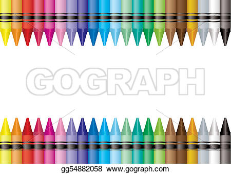 Crayon clipart boarder Border your to Drawing Art