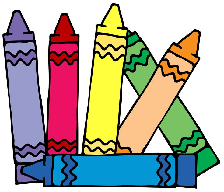 Crayon clipart childern Images dibujos about on 14