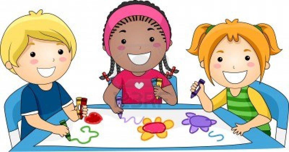 Crayon clipart childern Kids clip clipart  art