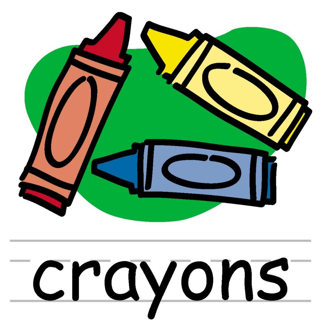 Crayon clipart color orange Orange Art Clip Crayon Abcteach