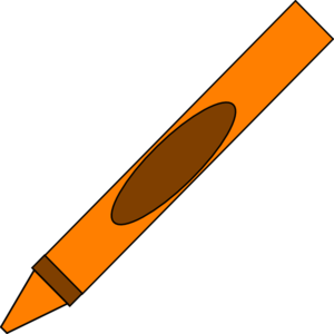 Crayon clipart color orange Clip art Orange  Totetude