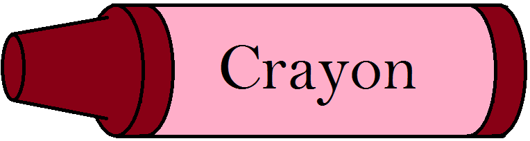 Crayon clipart color pink Melted Crayon Art Free a