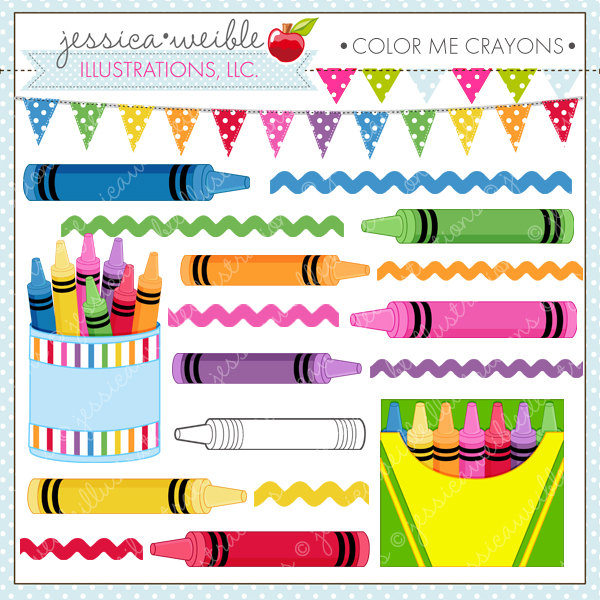 Crayon clipart color pink Or Clipart Me Commercial Crayons