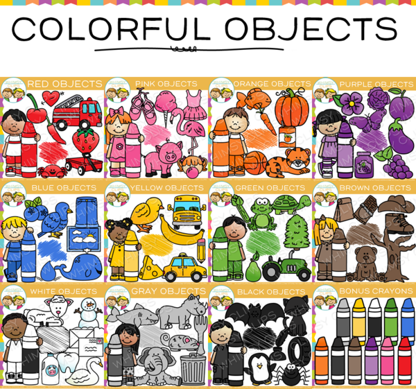 Crayon clipart color pink Whimsy Images in Clips Illustrations
