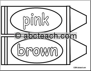 Crayon clipart color pink Art Crayon Clip Download –