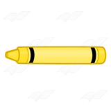 Crayon clipart color yellow Yellow Crayon Abeka Yellow Yellow