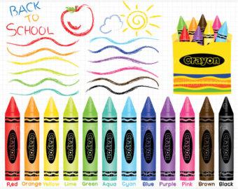 Shapes clipart crayon #11