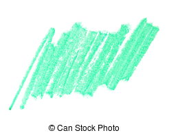 Crayon clipart crayon scribble Wax green Clipart  green