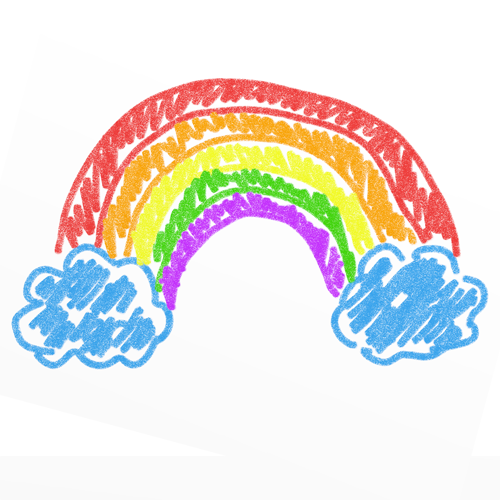 Crayon clipart crayon scribble Cliparts Cliparts collection Crayons Rainbow