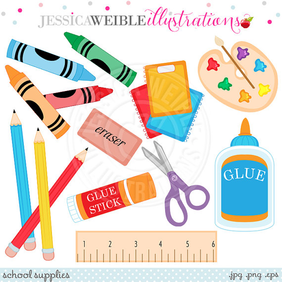 Crayon clipart cute School OK School Cute