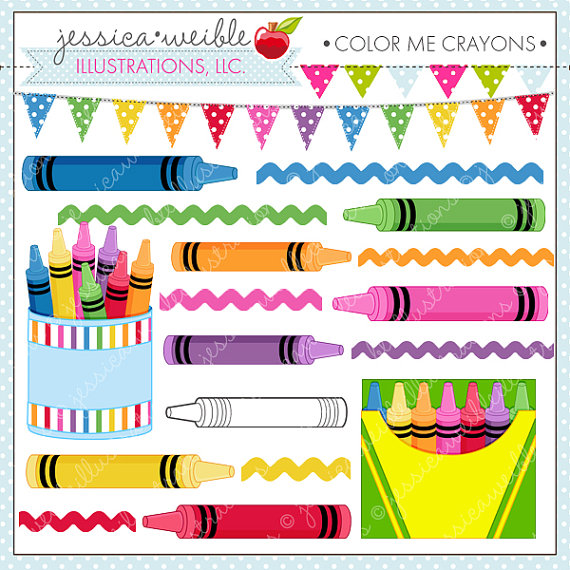 Crayon clipart cute For Clipart or Color or