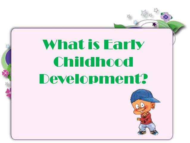 Crayon clipart early childhood development Early Early What Childhood childhood