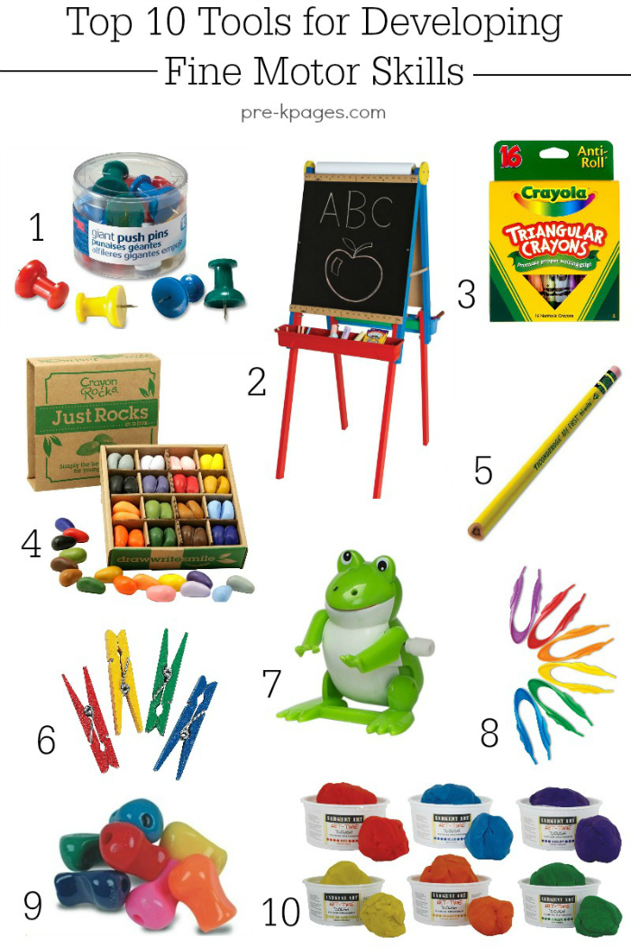Crayon clipart early childhood development Developing Skills Tools Fine Preschool