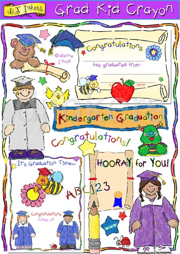 Crayon clipart early year & best graduation images graduation
