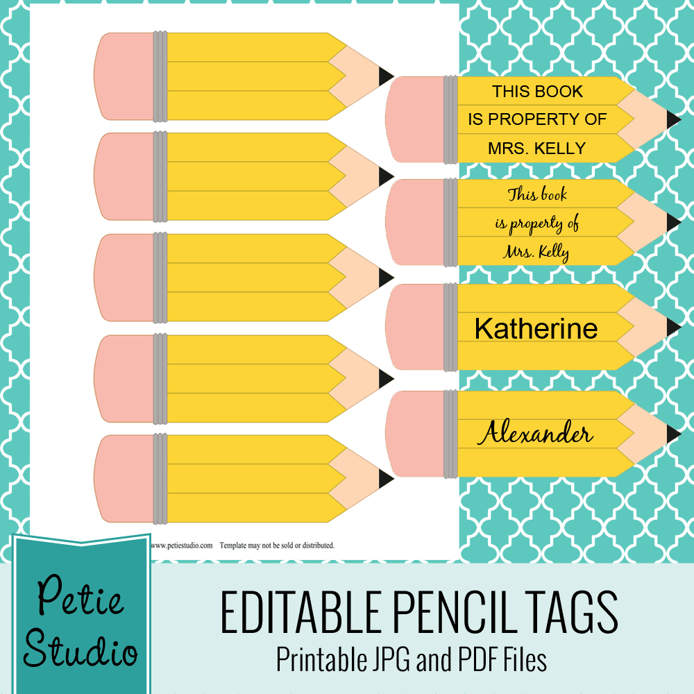 Pencil clipart label  Free 4 projects tags