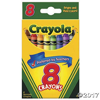 Crayon clipart eight 8 Color Crayons Color Crayons