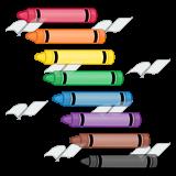 Crayon clipart eight Eight Art Crayons—rainbow Crayons Clip