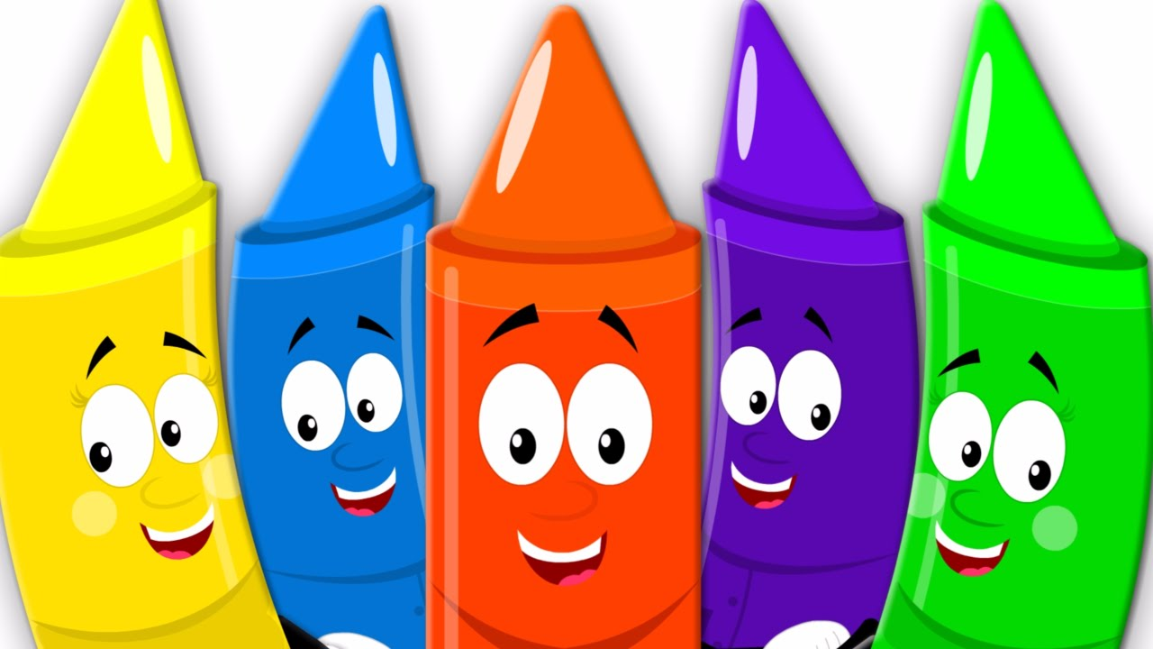 Crayon clipart five Song Crayons Baby Little Five