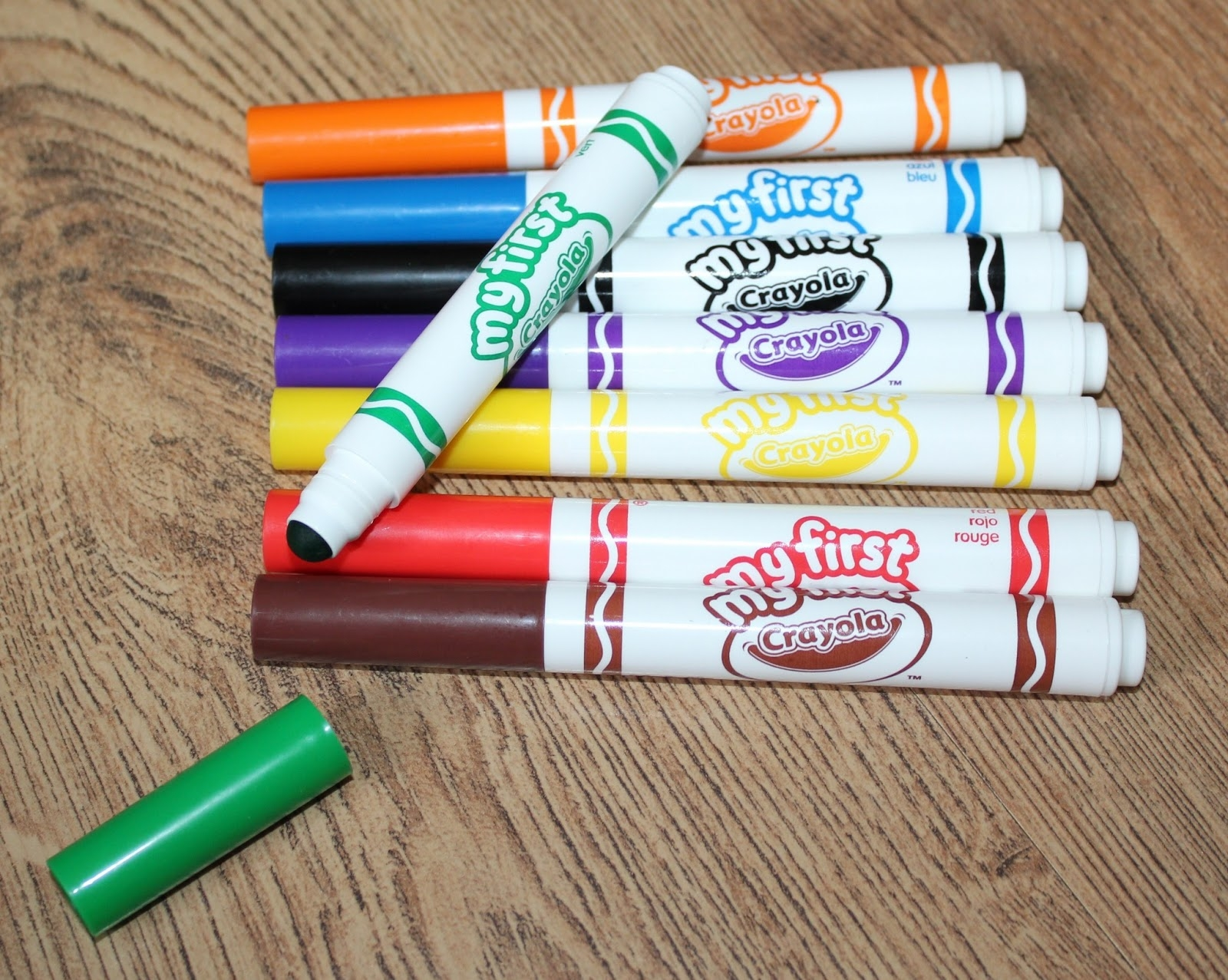 Crayon clipart five Regard Washable And Crayola Markers