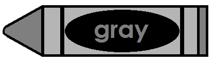 Crayon clipart gray How Political world this the