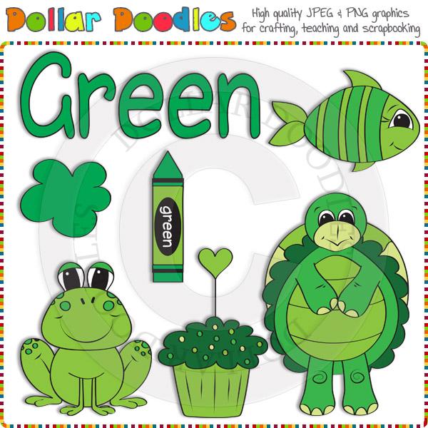 Crayon clipart green crayon [DSK99926] : Doodles Download Clip