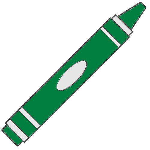 Crayon clipart green crayon 10560 Clip  Image Crayon