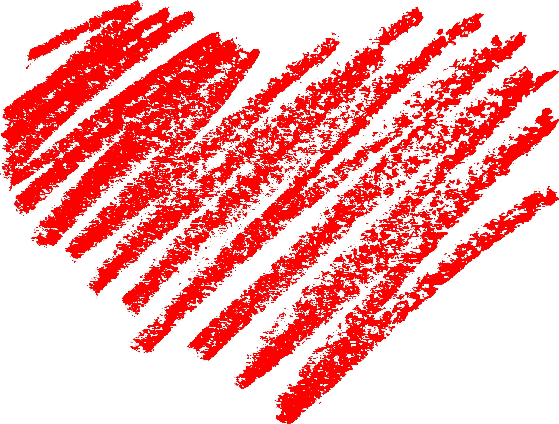 Crayon clipart heart Clipart Blue  Crayon