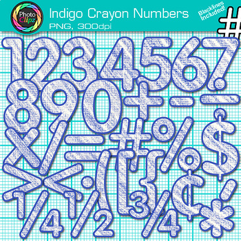 Crayon clipart indigo Indigo Math Teachers for Indigo