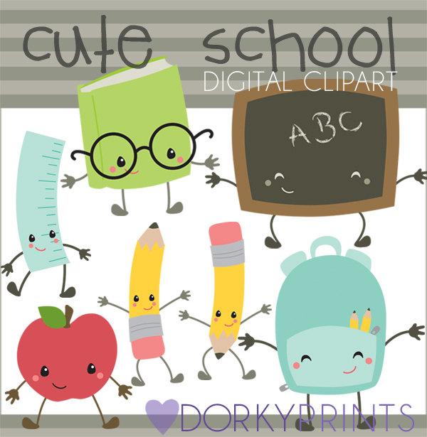 Crayon clipart kawaii Art School Cute Clipart Limited