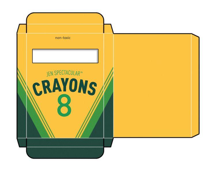 Crayon clipart kawaii Template Crayon Download Box cool