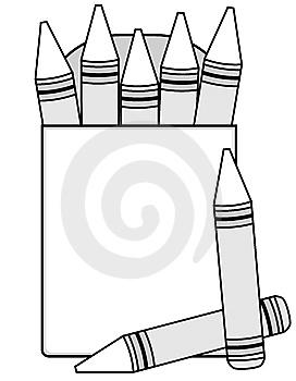 Crayon clipart outline Outline Download Clipart Crayon Clipart