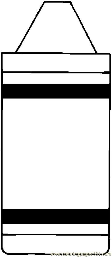 Crayon clipart outline Crayon Best Box collection white