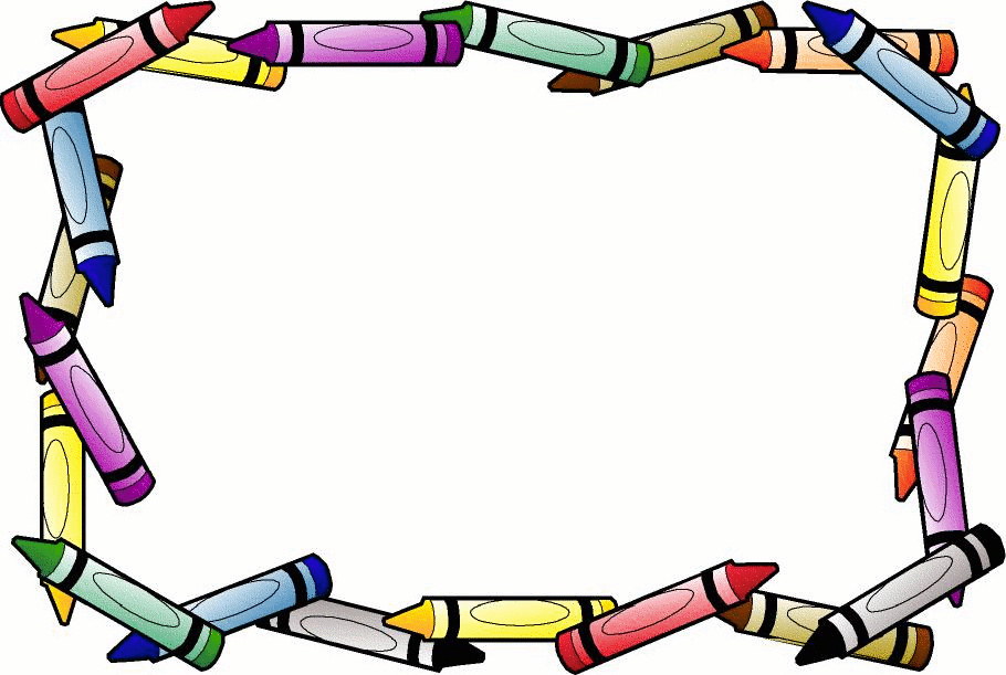 Crayon clipart page border Border crayon%20clipart%20borders Clipart Panda Images