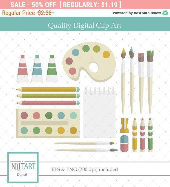 Crayon clipart paint brush Clip 50% art clip Crayons