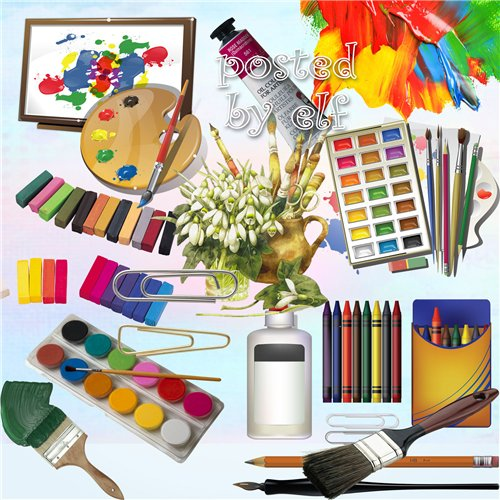 Crayon clipart paint brush Images download images png Brushes