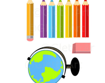 Crayon clipart pecil Commercial Teacher use crayon clipart