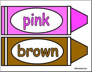 Crayon clipart pink crayon Clip Image Crayon Art 69