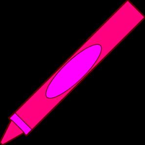 Crayon clipart pink crayon Clip art Crayon com Crayon