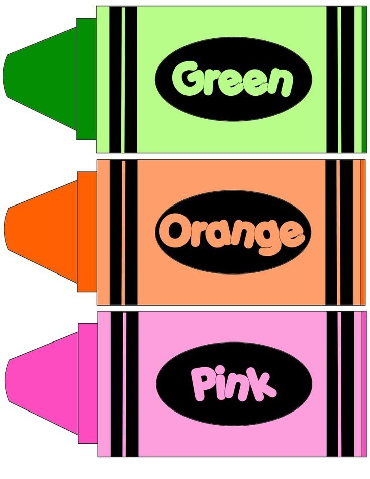 Crayon clipart preschool learning Style Style on and Preschool