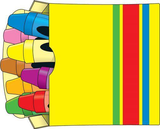 Crayon clipart school Skolmaterial IdeasGiovannaCrayon best School cosas