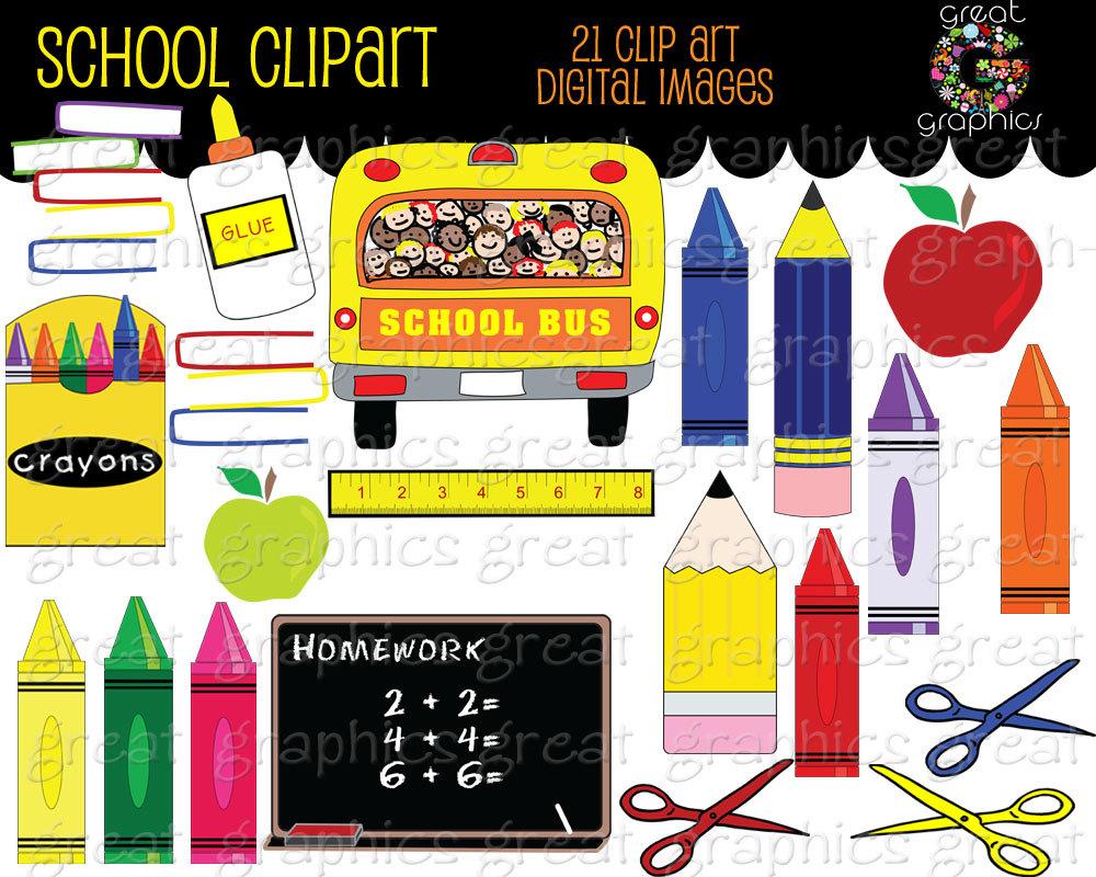 Crayon clipart school Clipart School School Like Art