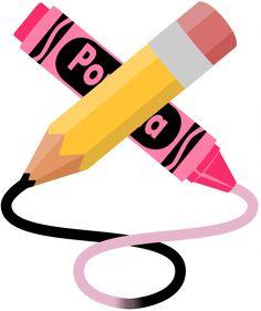 Crayon clipart school Pinterest YELLOW CLIP colors pencils
