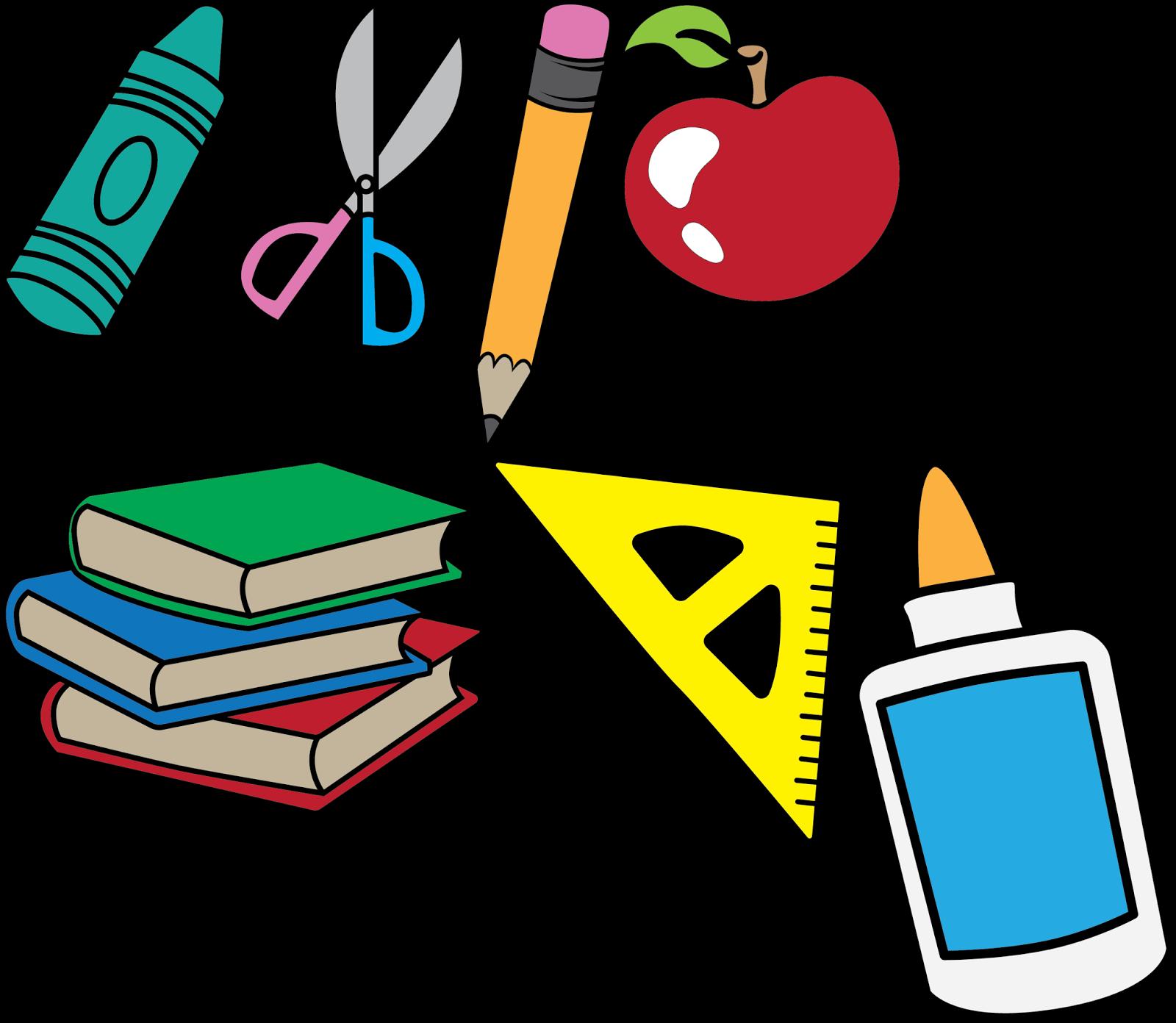 Crayon clipart scissors PENCIL SILHOUETTE SCHOOL BOOKS PENCIL