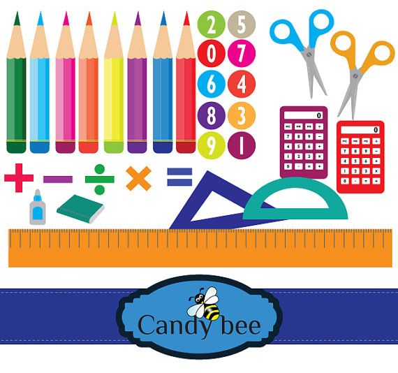 Crayon clipart scissors Digital Crayons images on Calculator