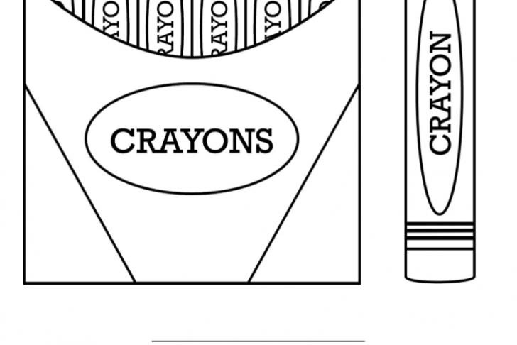 Crayon clipart six Crayon Printable Color Of Coloring