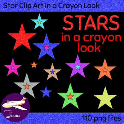Crayon clipart star On in Janelle Look Free