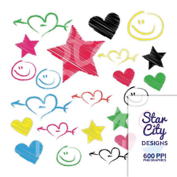 Crayon clipart star Images Clipart by StarCityDesigns Art